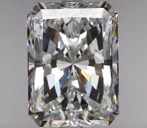 2.01 carat, Color D, Clarity VS1 , Radiant Shape, GIA Certified