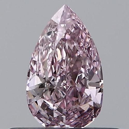0.32 carat, Fancy Pink, Clarity SI1 , Pear Shape, GIA Certified