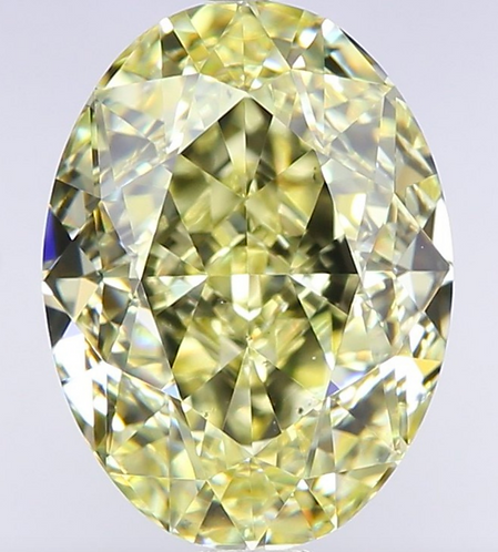 2.02 carat, Fancy Yellow, Clarity VS2, Oval, GIA Certified
