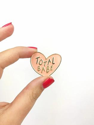 Total Babe Lapel Pin