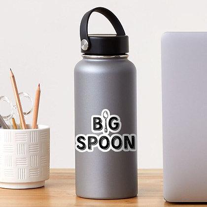 """Big Spoon 4"""" Sticker"""