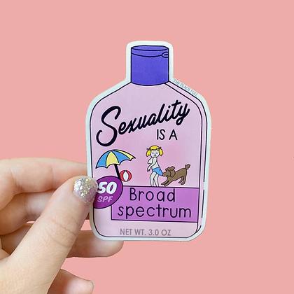 """Broad Spectrum 3"""" Sticker"""