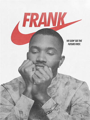 FRANK OCEAN SELF-INITIATED 'NIKES' POSTER CONCEPT (2019)