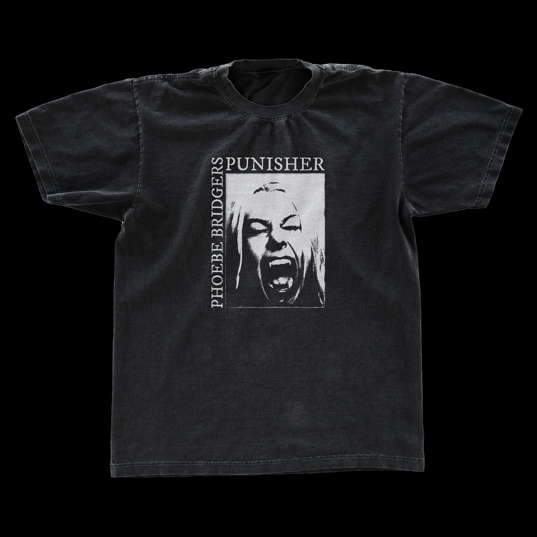 PHOEBE BRIDGERS 'PUNISHER' T-SHIRT CONCEPT