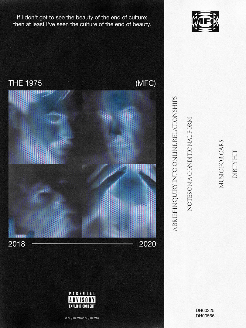 THE 1975 SELF-INITIATED 'MUSIC FOR CARS' POSTER CONCEPT