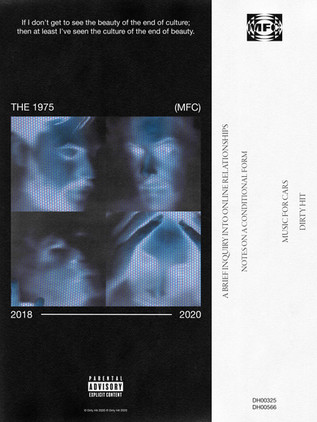 THE 1975 SELF-INITIATED 'MUSIC FOR CARS' POSTER CONCEPT (2020)