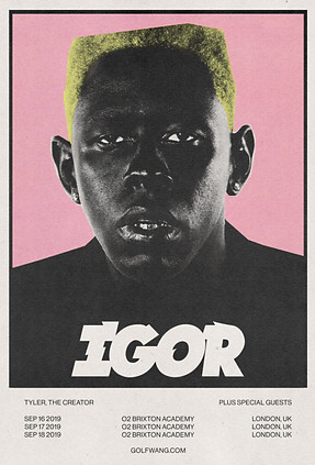 TYLER, THE CREATOR SELF-INITIATED SHOW POSTER CONCEPT (2020)