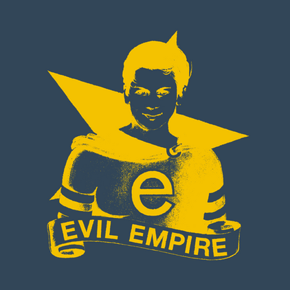 RAGE AGAINST THE MACHINE OFFICIAL 'EVIL EMPIRE' 25TH ANNIVERSARY SOCIAL MEDIA GRAPHIC (2021)