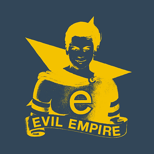 RAGE AGAINST THE MACHINE OFFICIAL 'EVIL EMPIRE' 25TH ANNIVERSARY SOCIAL MEDIA GRAPHIC