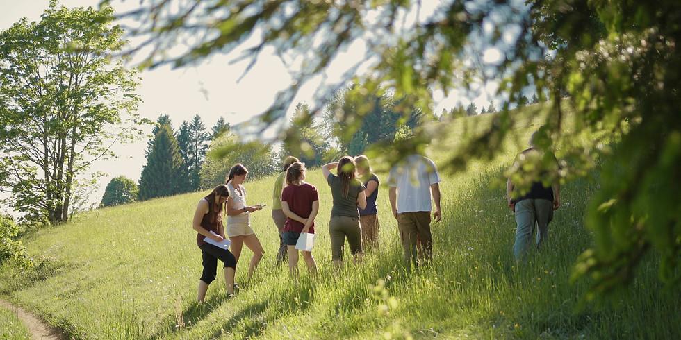 Start der Weiterbildung Natur- und Wildnispädagogik 2020