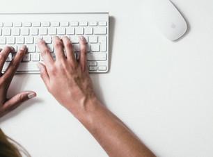 Eingabe auf der Tastatur