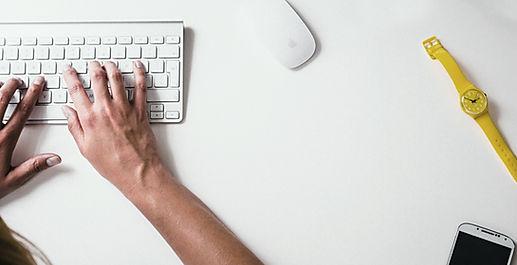 Digitando sulla tastiera