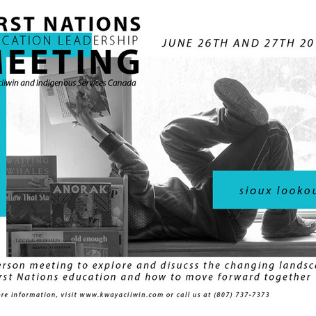 KERC, ISC to host First Nations Education Leadership meeting