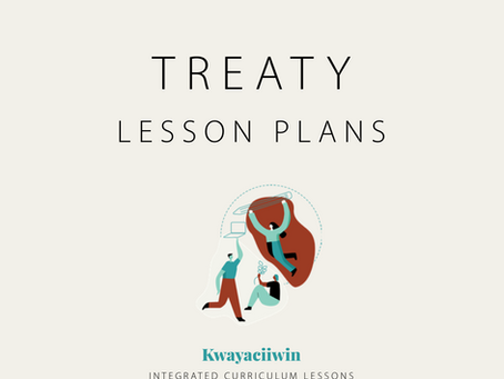 Treaty lesson plans available for classroom use