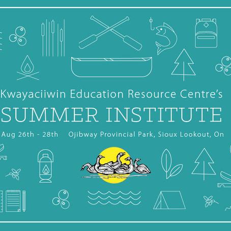 Register now for Summer Institute