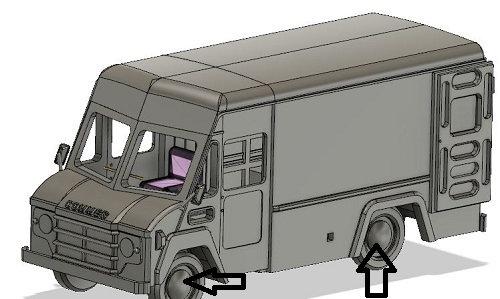 Lightweight Walkthrough Van kit