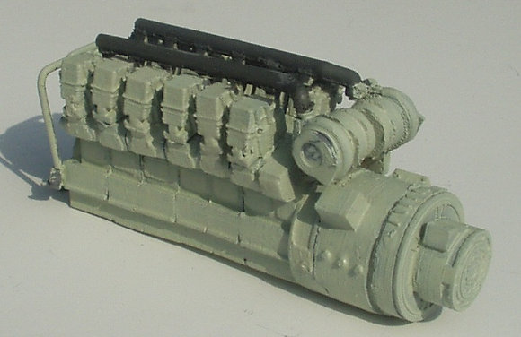 Class 31/37 12 Cylinder Engine kit