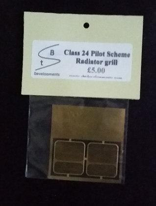 Class 24 Pilot Scheme Rad Grill