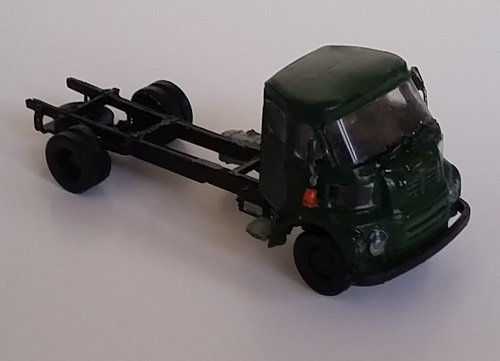 FG Chassis and Cab.