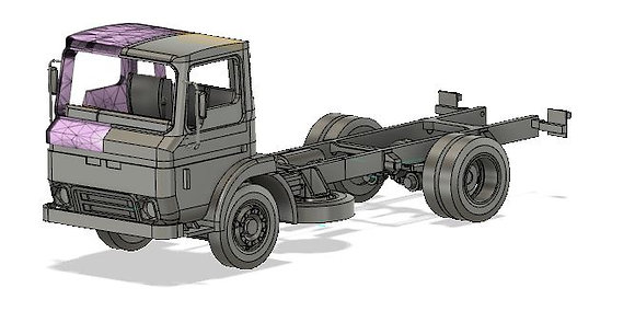 Commando 100 Chassis Cab Earlier version