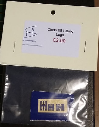Class 08 Lifting lugs