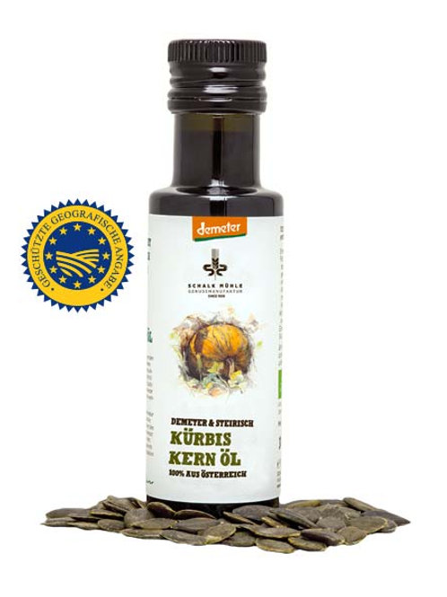 Demeter Bio Steirisches Kürbiskernöl
