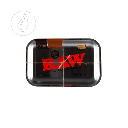 Raw Rollingtray Silver Metal Small