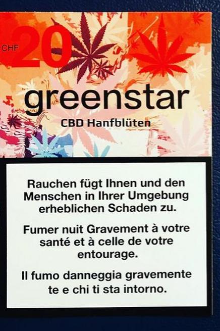 CBD Blüten Greenstar - Indoor Quality - 2.5g