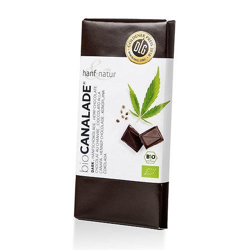Canalade Dark Dunkle Hanfschokolade