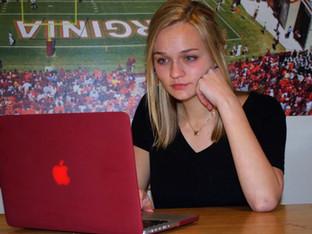 Student on Career Path, VT News, Virginia Tech, 2017