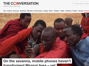 Phones haven't changed Maasai... yet, theconversation.com, June 2017