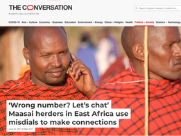 Mobile phones and wrong numbers, www.theconversation.com, June 2021