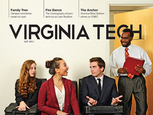 Skipping class, Virginia Tech Magazine, 2015