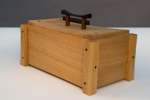 Cedar Tea Caddy