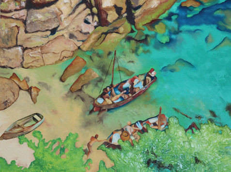 Porthgwarra crab fishers