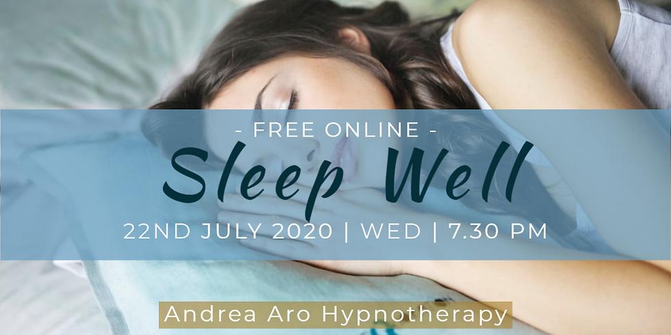 Sleep Well Hypnosis Session