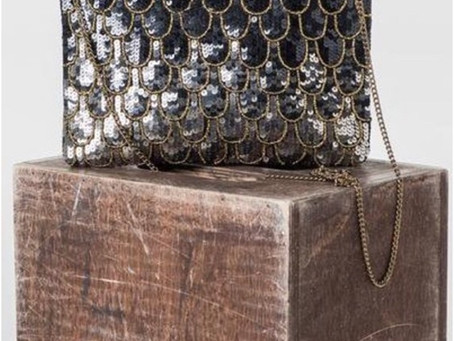 Best selling Handmade Art Deco Beaded Party with Chain Sling Bag by AMPOUR  Shop Bags Online