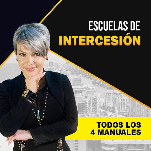TODOS LOS MANUALES DE LAS ESCUELAS DE INTERCESIÓN