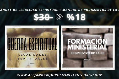 Manuales Rudimentos de la Fe y Legalidades Espirituales