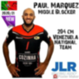 Paul Viloria | JLR Volleyball Agency