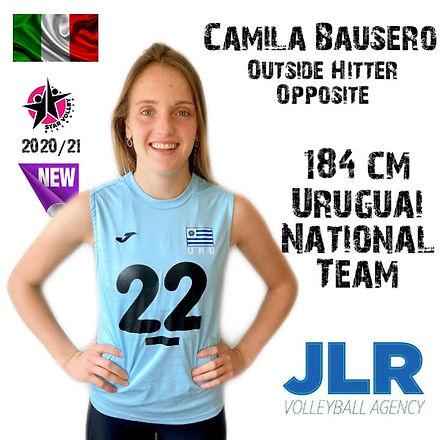 camila bausero_ JLR Volleyball Agency