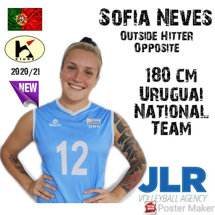 Sofia Neves | JLR Volleyball Agency | Ou