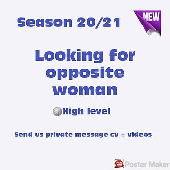 Looking for Opposite woman - JLR Volleyb