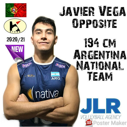 Javier Vega | JLR Volleyball Agency | Op