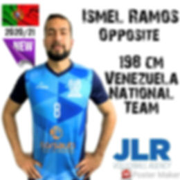 Ismel Ramos | JLR Volleyball Agency