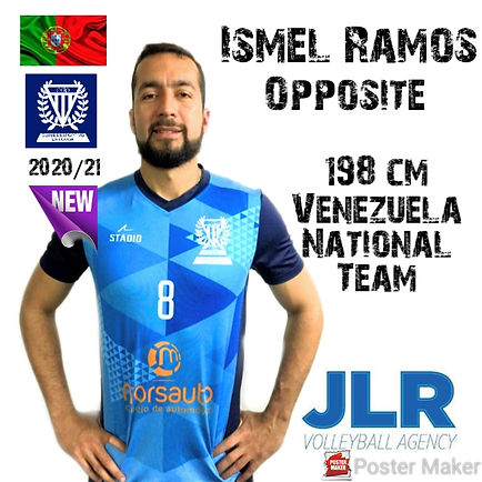 Ismel Ramos | JLR Volleyball Agency | Op