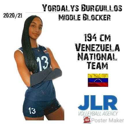 Yordalys Burguillos | JLR Volleyball Age