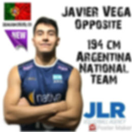 Javier Vega | JLR Volleyball Agency