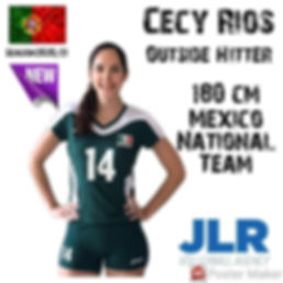 Cecy Rios | JLR Volleyball Agency