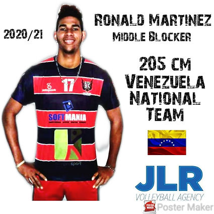 Ronald Martinez | JLR Volleyball Agency